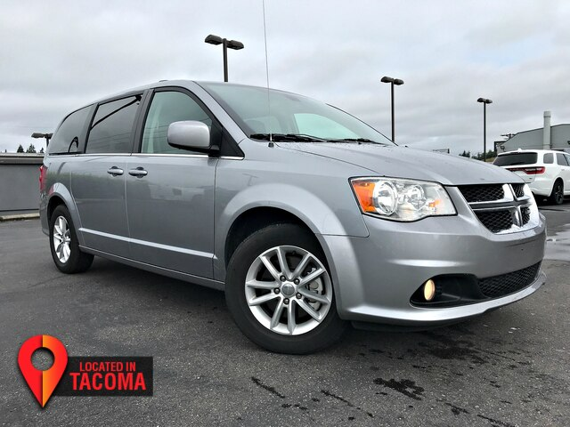 Pre Owned 2019 Dodge Grand Caravan Sxt Minivan In Tacoma C40930 Fiat Of Tacoma